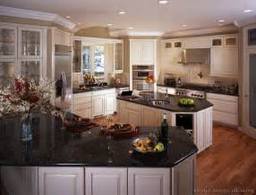 Kitchen Cabinets And Granite Pictures Of Kitchens Traditional White Antique