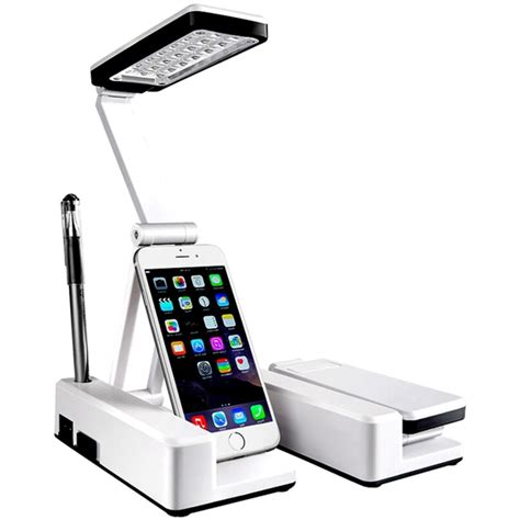 Portable Lighted Desk by Portable Foldable 21 Led Desk Table L Rechargeable