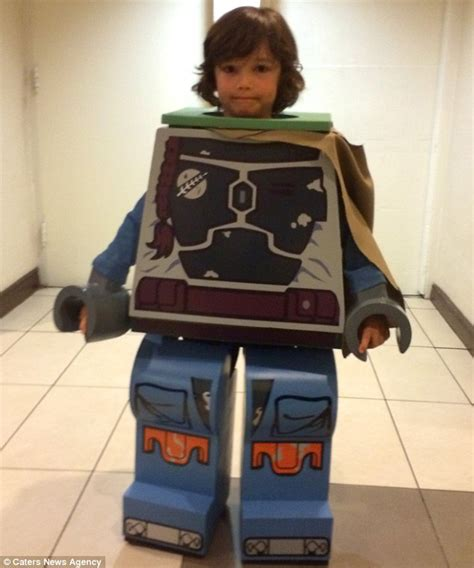 star wars fan builds his son a home made boba fett suit