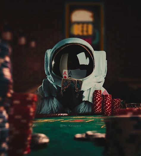 dreamlike astronaut photoshop manipulation design  red
