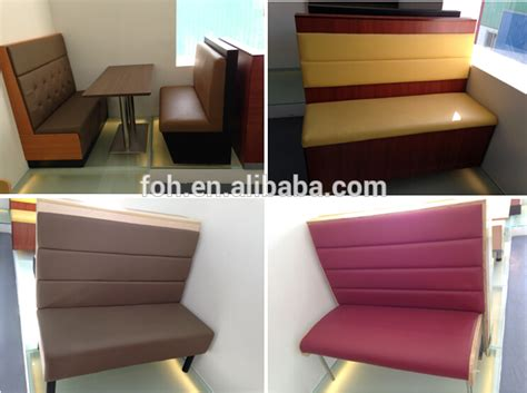 Booth Sofa Seating Commercial Use Single Side Restaurant