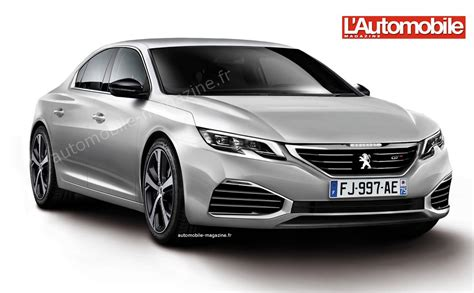 peugeot 508 new model 2017 second generation 2017 peugeot 508 rendering