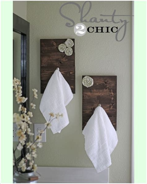 Towel Rack Ideas For Bathroom by 15 Cool Diy Towel Holder Ideas For Your Bathroom