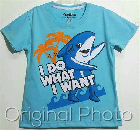 Kaos Oshkosh Murah 5 kaos oshkosh bgosh shark i do what i want 1 6 grosir baju anak grosir eceran baju anak