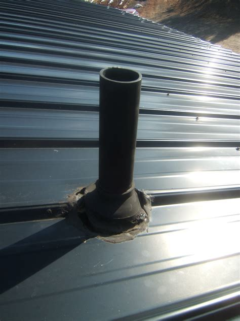 Repair Roof Vent Pipe Boot For Air Vent