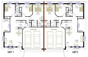 2 x 3 bedroom duplex floor plans 3 bathroom design