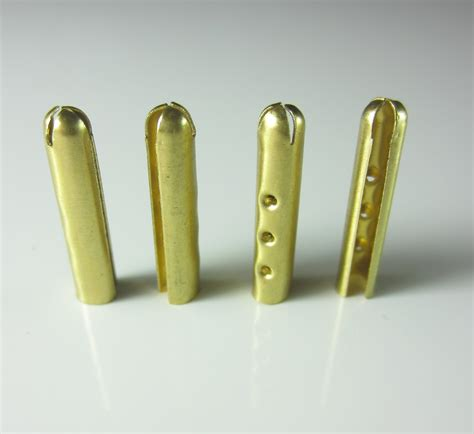 String Tips - 8 gold drawstring tips aglets air yeezy aglets