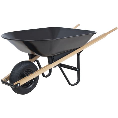 Big Lots Kitchen Furniture by Shop Blue Hawk 4 Cu Ft Steel Wheelbarrow At Lowes Com