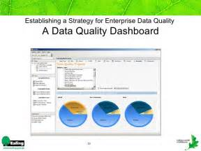 establishing a strategy for data quality