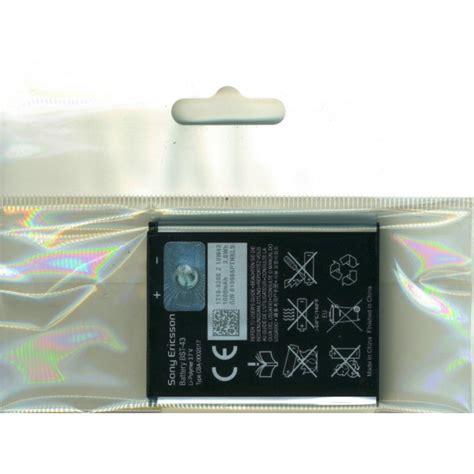 Batre Battery Baterai Sony Ericsson Bst 43 Original 100 genuine sony ericsson bst 43 1000mah battery for wt13i