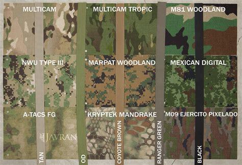image pattern comparison color comparison quot green quot camo patterns javran