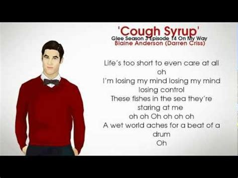 fix you glee free mp3 download download the glee cast cough syrup blaine anderson