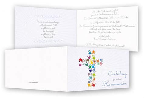 Word Vorlage ã Karte Einladungen Zur Kommunion Feinekarten