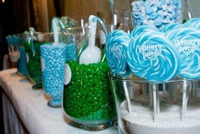 blue and green buffet seaside blue green buffet bat mitzvah blue and and blue