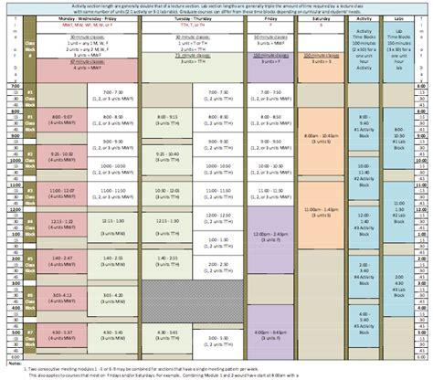 Cal State La Academic Calendar Academic Calendars And Schedule Modules California State