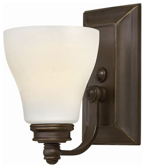 Single Bathroom Light Fixtures Hinkley Lighting Single Light Bathroom Vanity Fixture Traditional Bathroom Vanity Lighting