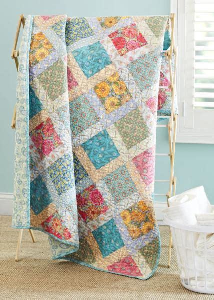 American Patchwork Quilt - color options from american patchwork quilting june 2013