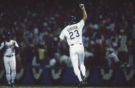 top ten ds moments 1 kirk gibson s home run 1988 world