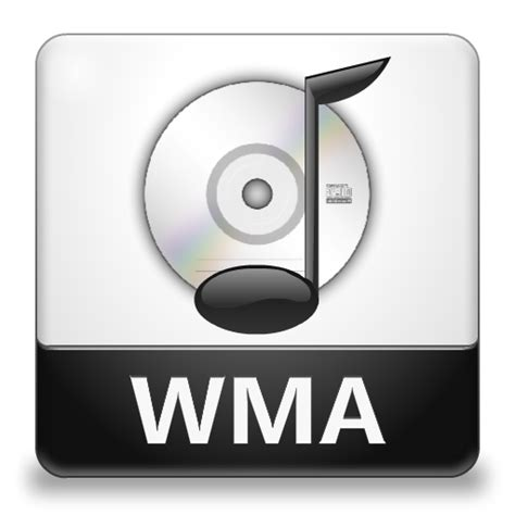 format audio wma wma file icon lozengue filetype icons softicons com