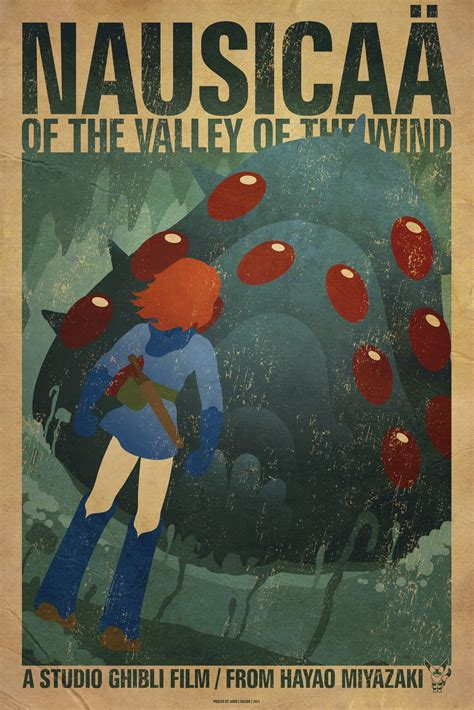 studio ghibli film posters the geeky nerfherder movie poster art nausica 228 of the