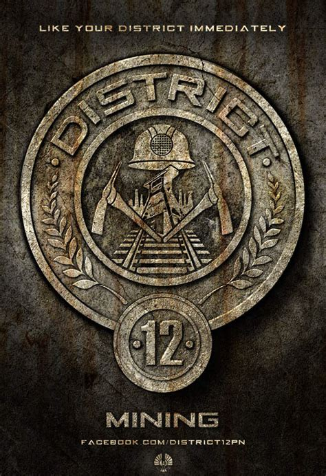 hunger games district themes this is the picture of the symbol of district 12 where