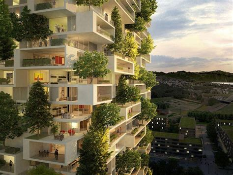 Green Appartments by 384ft Apartment Tower To Be World S Vertical