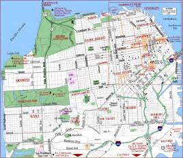 san francisco map guide