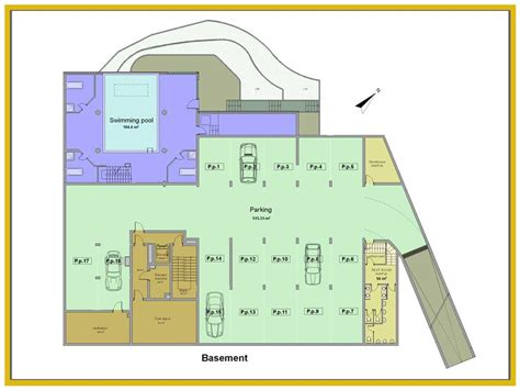 underground floor plans residential underground garage plans floor plan house