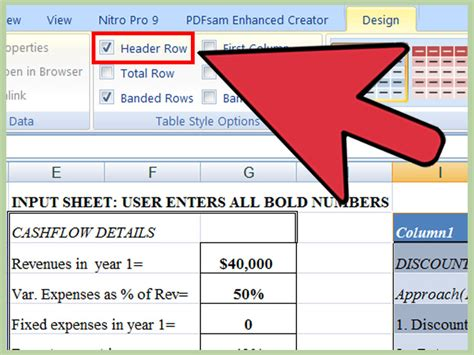 material design header exles the simplest way to add a header row in excel wikihow
