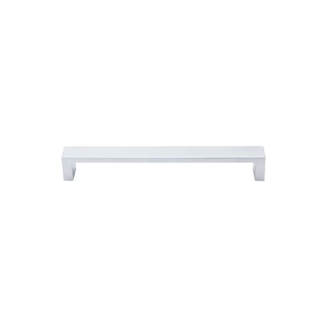 7 inch cabinet pulls top knobs tk252alu aluminum modern metro 7 inch center to center handle cabinet pull