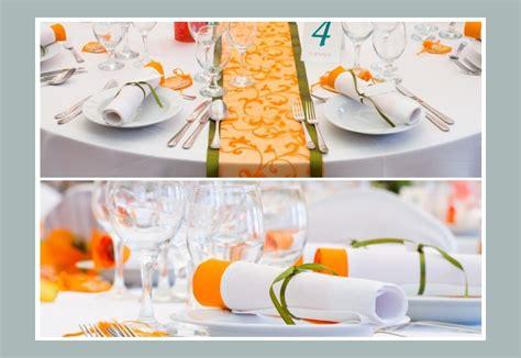 tischdeko orange orange tischdeko tips