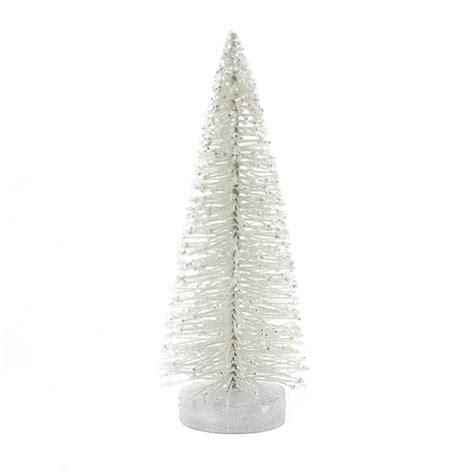 bottle brush christmas trees wholesale sisal trees white bottle brush tree 8 inches