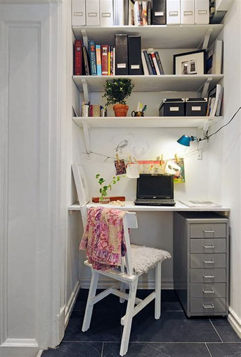 Ideas For A Small Office Home Office Ideas Working From Home In Style