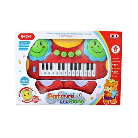 Keyboard Mainan keyboard drum mainan bayi dan anak pat keyboard and drum