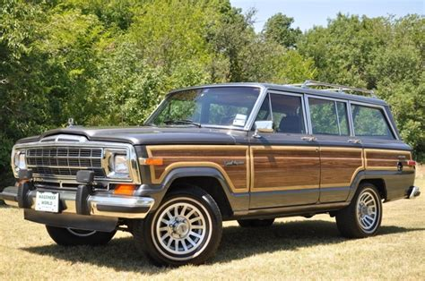 Dover Jeep 1988 Jeep Grand Wagoneer Dover Grey Met Images Frompo