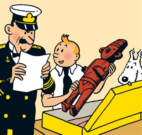 tintin personnages secondaires