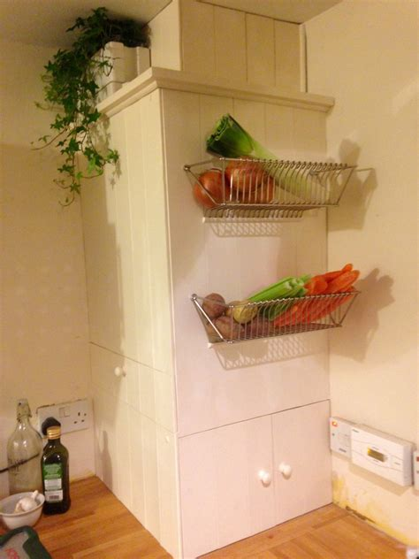 Kitchen Cabinets Online Ikea fintorp dish drainer becomes wall fruit basket ikea