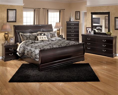 sleigh bedroom sets ashley esmarelda sleigh bedroom set