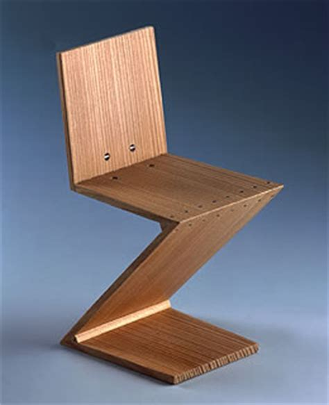 Luxury Home Office Design - rietveld miniature zig zag chair 1934 by vitra design nova68 com