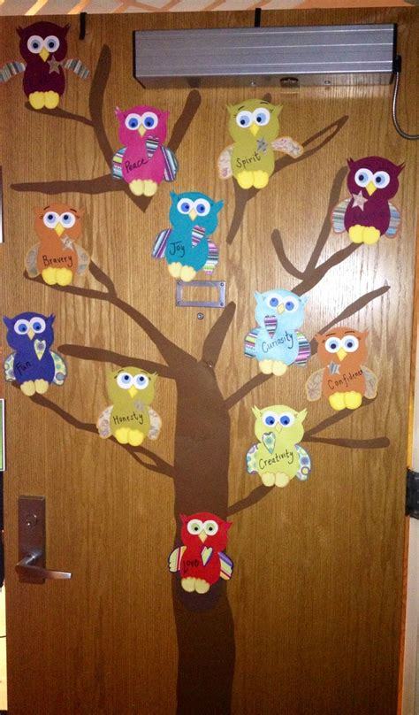 door owl decorations ra door decorations