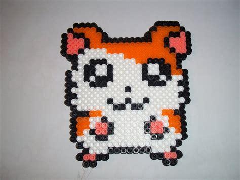 perler crafts hamtaro perler bead craft by bamffalocrafts on deviantart