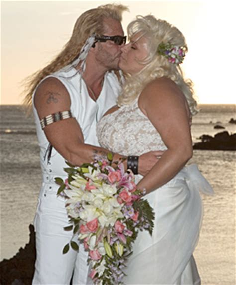 the bounty ex picture duane quot quot chapman and beth get married on may 20 2006 and beth