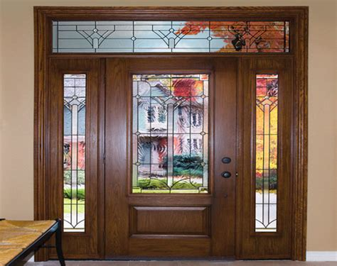 glass entry doors residential exterior fiberglass doors residential entry