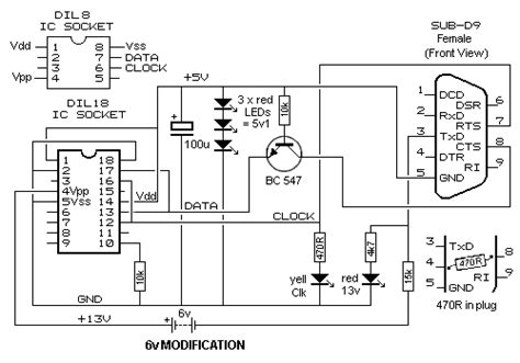 jdm programmer circuit diagram pic programmer 12 parts
