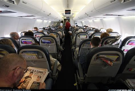 Thomson 757 Cabin by Photos Boeing 757 204 Aircraft Pictures Airliners Net