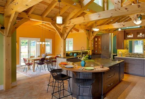 LEED Certified Timber Frame with Eat in Kitchen, Generous