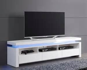 meuble tv laque blanc led pas cher id 233 es de d 233 coration et de mobilier pour la conception de la