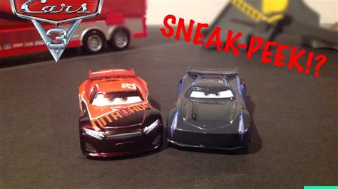 Cars 3 Tim Treadless cars 3 sneek peek disney cars3 diecast jackson tim