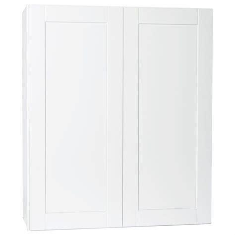 hton bay cabinets white shaker hton bay shaker assembled 36x42x12 in wall kitchen