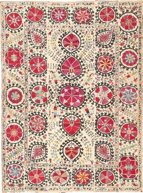 uzbek vintage suzani handmade embroidery sew et al pinterest 505 best ikat suzani images on pinterest bedroom ideas